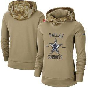 Women's Dallas Cowboys Pullover Hoodie